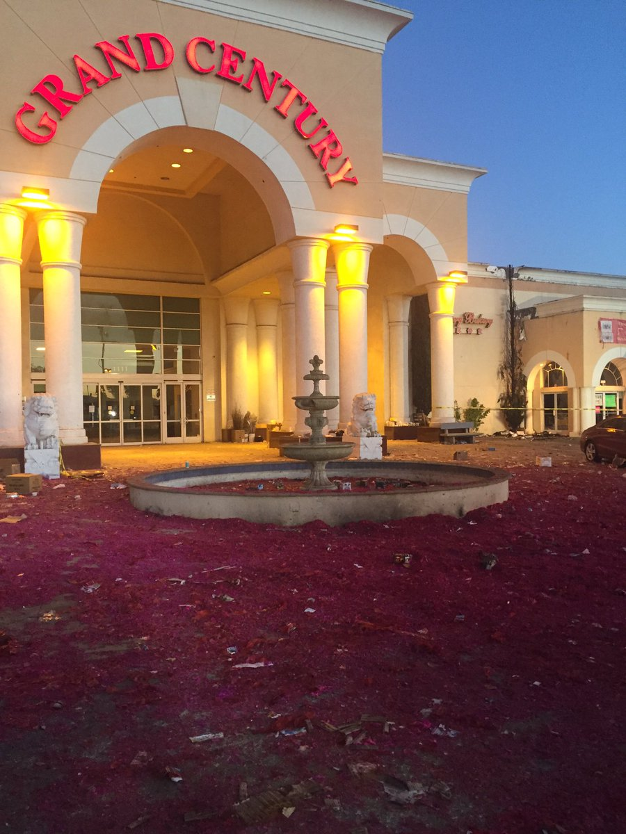 San Jose PD says 59 fireworks calls yesterday. 0 at Grand Century Mall where fire started at Lunar New Year event.