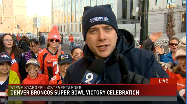 Check out our live coverage of the Super Bowl celebrations!! UPLOAD your celebrations pics