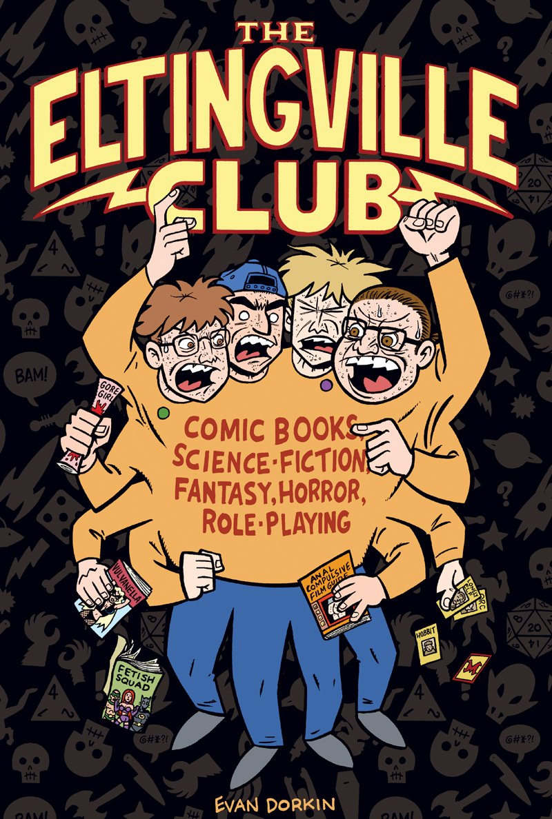 Out tomorrow: The be all, the end all, THE ELTINGVILLE CLUB. $20 from @DarkHorseComics https://t.co/yprXjmwHrj