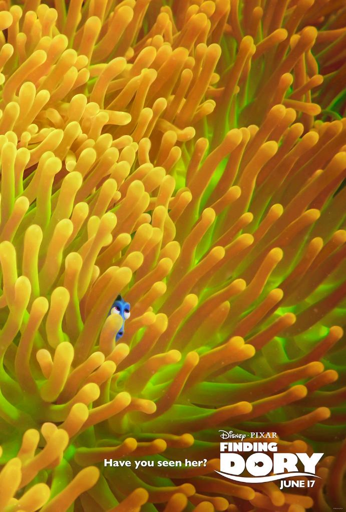 New Finding Dory Posters Revealed 1
