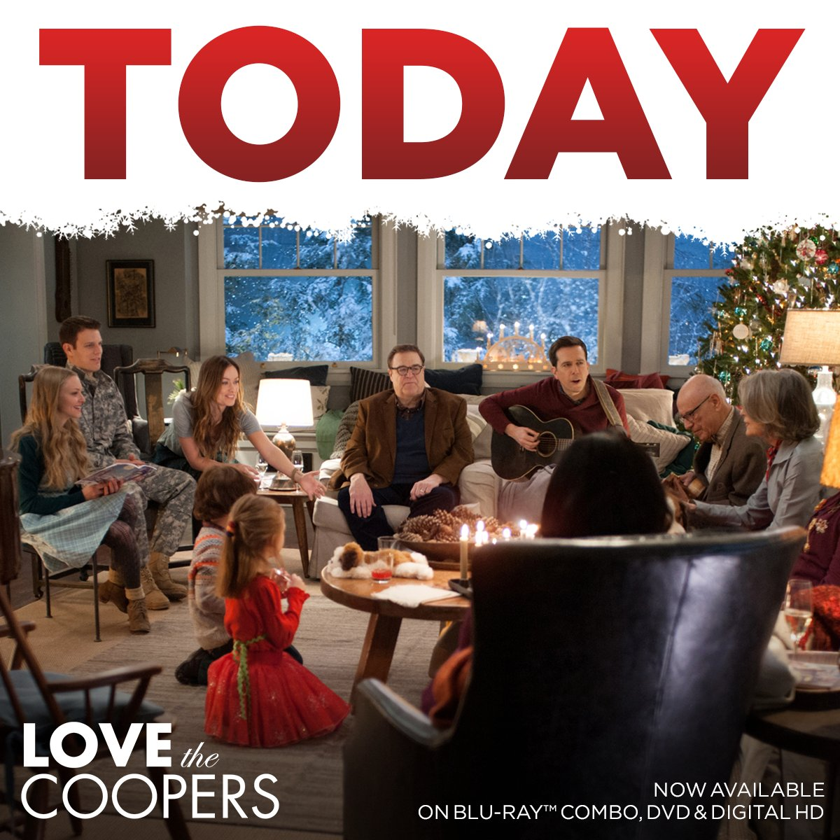 Join the Coopers for a family get-together. Now on Blu-ray & DVD! https://t.co/koMlcVCe0V https://t.co/5JZCYa8tvB