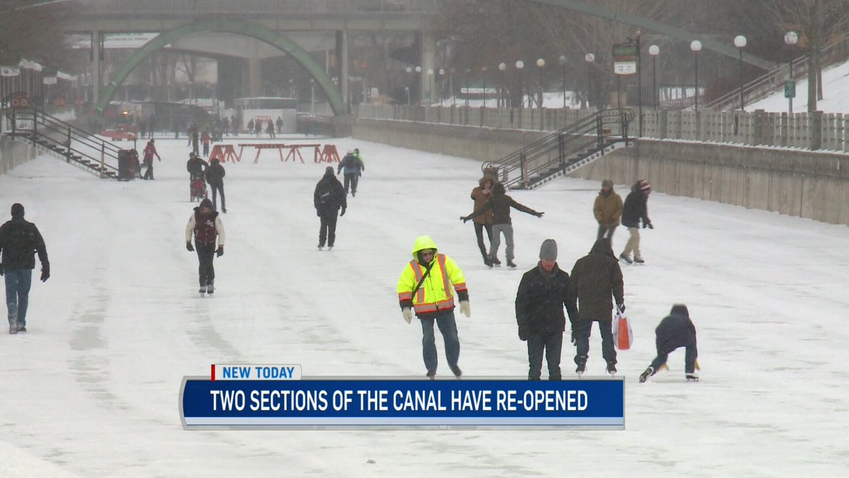Grab your skates, green flags are flying on two sections of the @NCC_Skateway ottnews