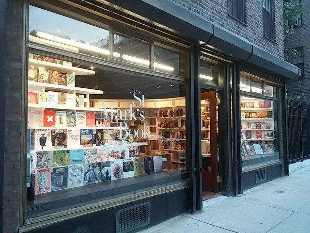 Sputtering St. Mark's Bookshop Now Unloading Books At Steep Discount, Cash Only