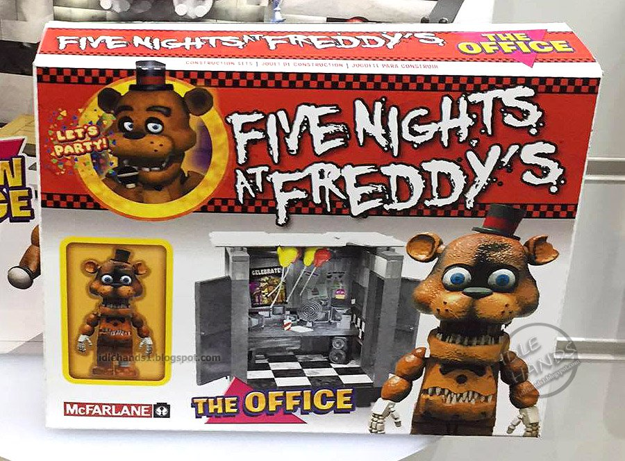 McFarlane FNaF Office with...Nightmare Freddy?! : fivenightsatfreddys