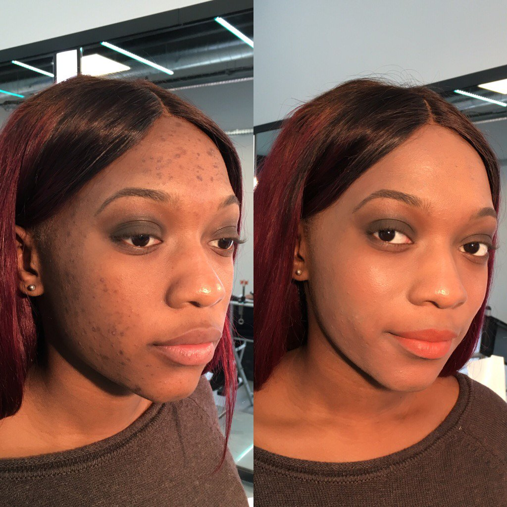 Before / after #airbrush #makeup https://t.co/wemtm7pB4M