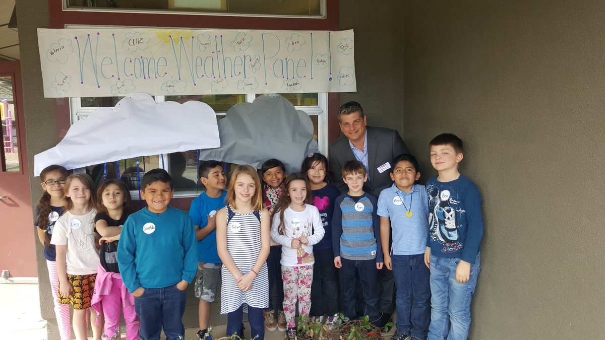 Fun visit today with the kids at Howell Mountain School in Angwin @kron4news