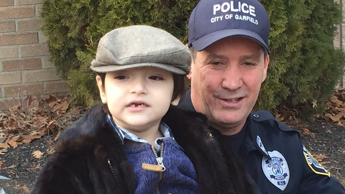 New Jersey police officer comes to rescue of boy choking on quarter