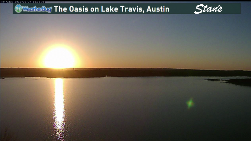 Lake Travis seems to have leved off at 95% full. With no significant rain in sight, it could soon fall. atxwx