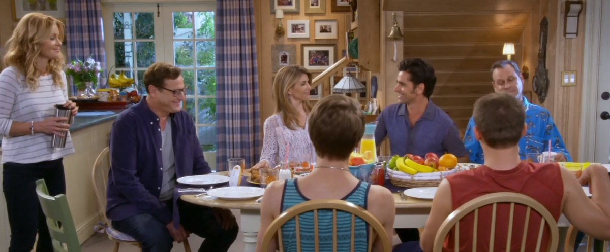 The first (actual) trailer for FullerHouse has arrived!