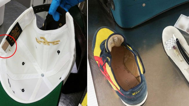 Pair found with hidden blades at NYC airport: authorities -->