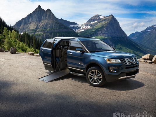 @Ford adds sport package, wheelchair-accessible Explorer