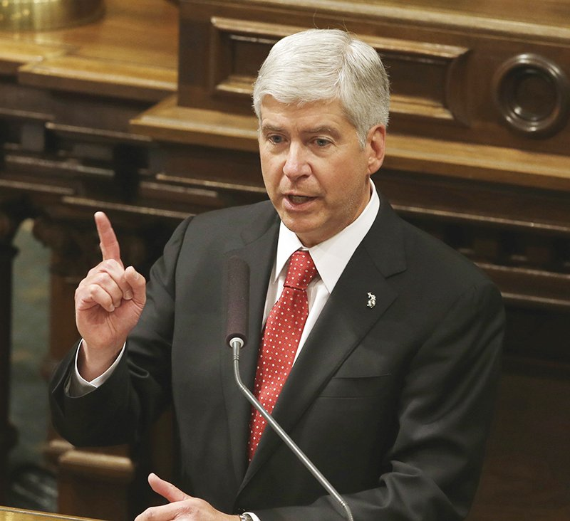 Snyder to propose $195M more for FlintWaterCrisis