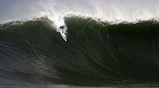 Mavericks big-wave competition is on for Friday.