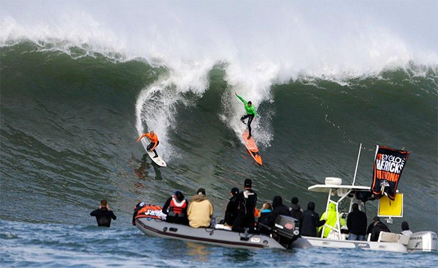 The Mavericks surf competition is on this Friday for the first time since 2014.