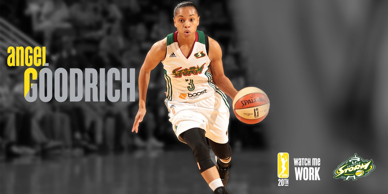 Angel Goodrich Re-Signs with Seattle Storm for 2016 WNBA Season