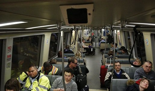 BART admits 77% of train cameras are fake or don't work.