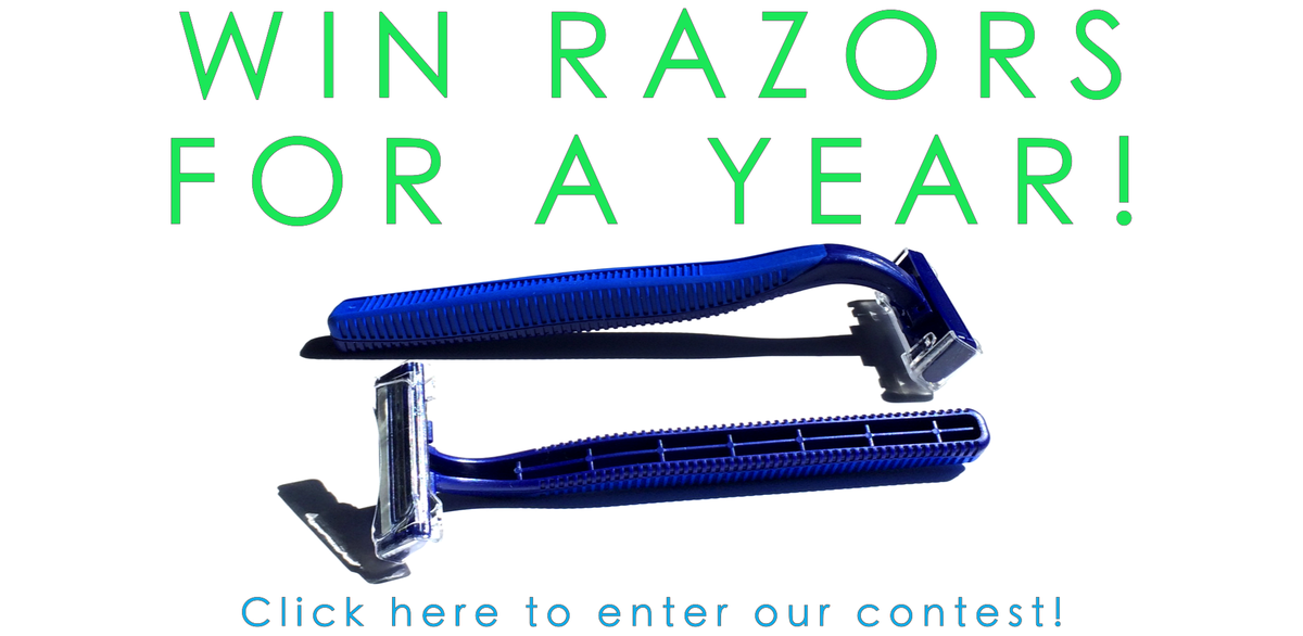 WIN FREE RAZORS FOR A YEAR! Enter to win at our website! @bigboxofrazors #Retweet #Razors https://t.co/J5y86uVwny https://t.co/tFcZD1qYPV
