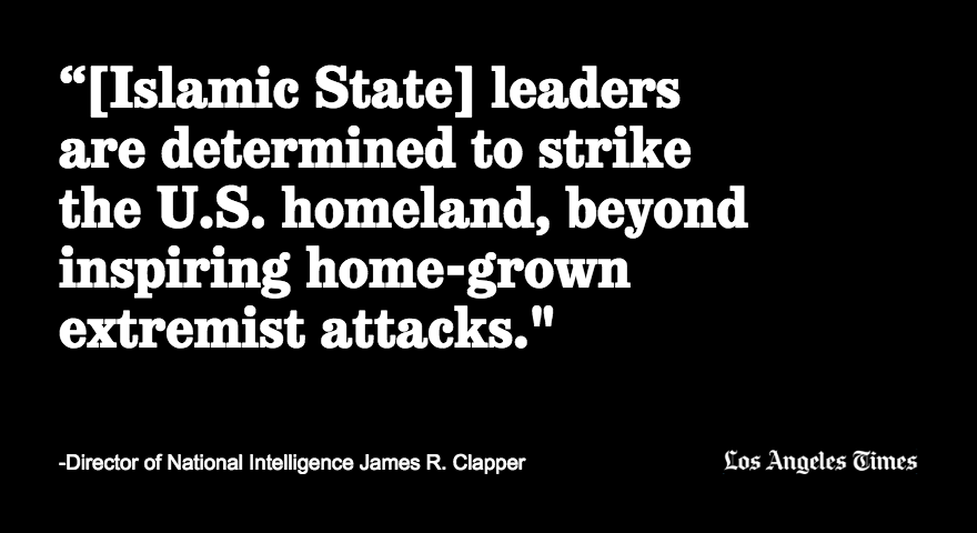 Islamic State will continue to target the U.S.