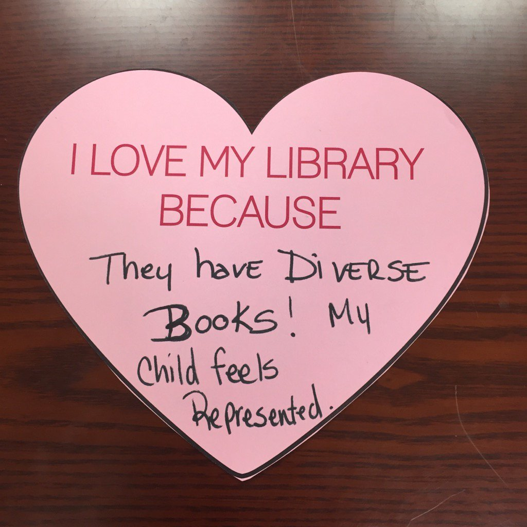 Got this today. :D #libraryYES #WeNeedDiverseBooks https://t.co/EjduHahdab