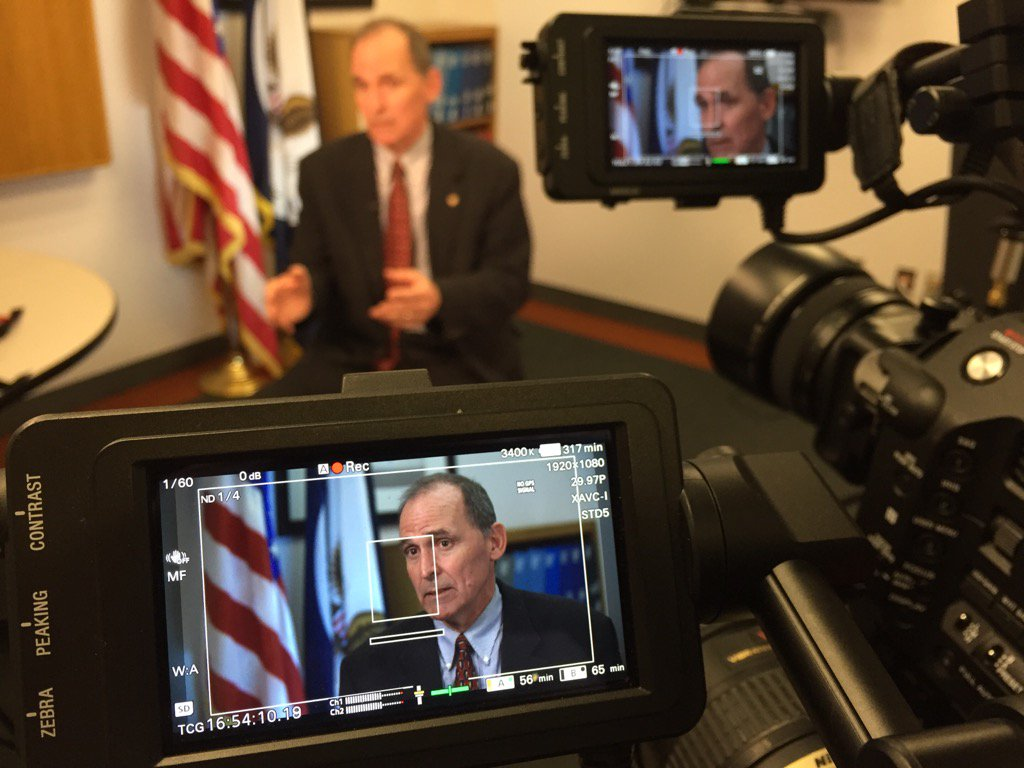 Interview with Brian Holian @NRCgov. Stay tuned for our special report. @FederalTimes @MichaelHardyNet @FedEdJill