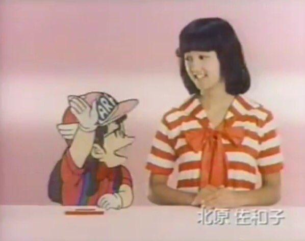 髪のアクセサリーが素敵な北原佐和子さん