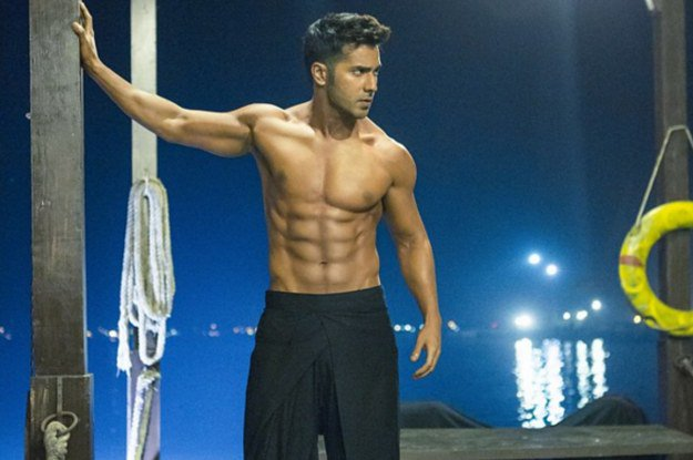 Replying to @BuzzFeedIndia: Can We Just Talk About Varun Dhawan's Abs?