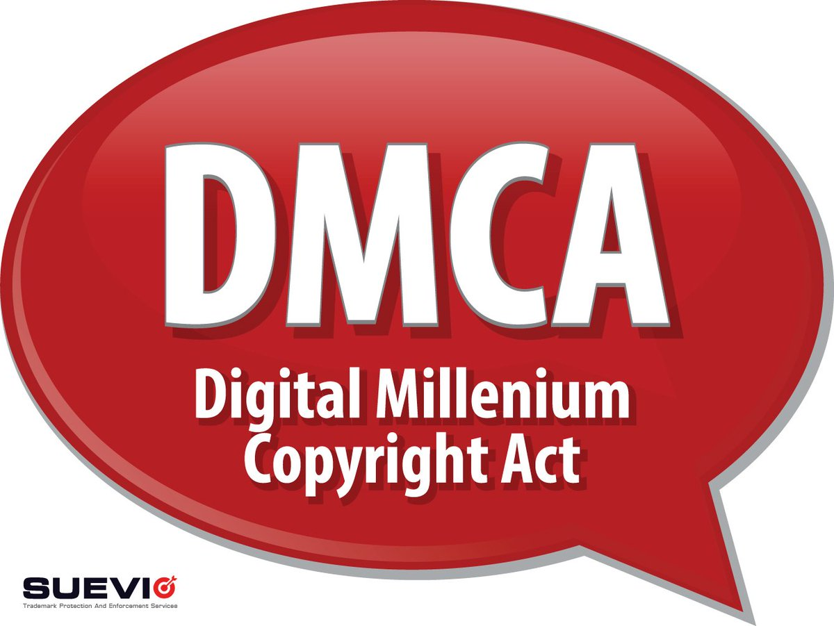 suevio on twitter do you know what is dmca take down notice