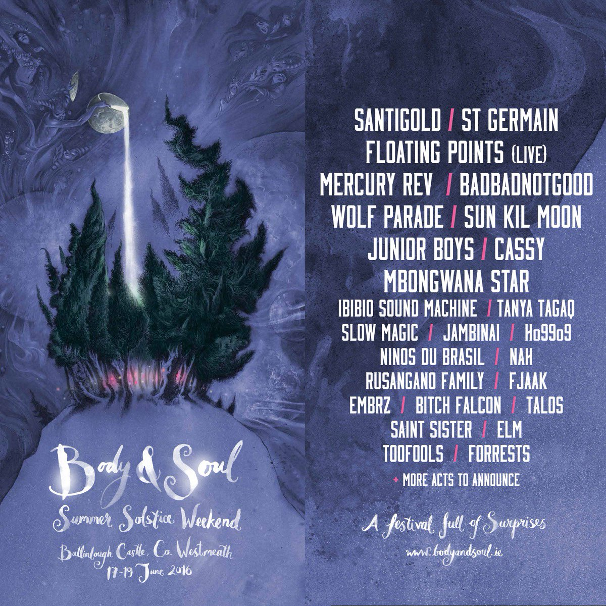 Follow the lights deep into the woods this summer solstice, where you'll find... #bodysoul16 https://t.co/vh6Hdh9Kh8 https://t.co/v9wjL3J0MF