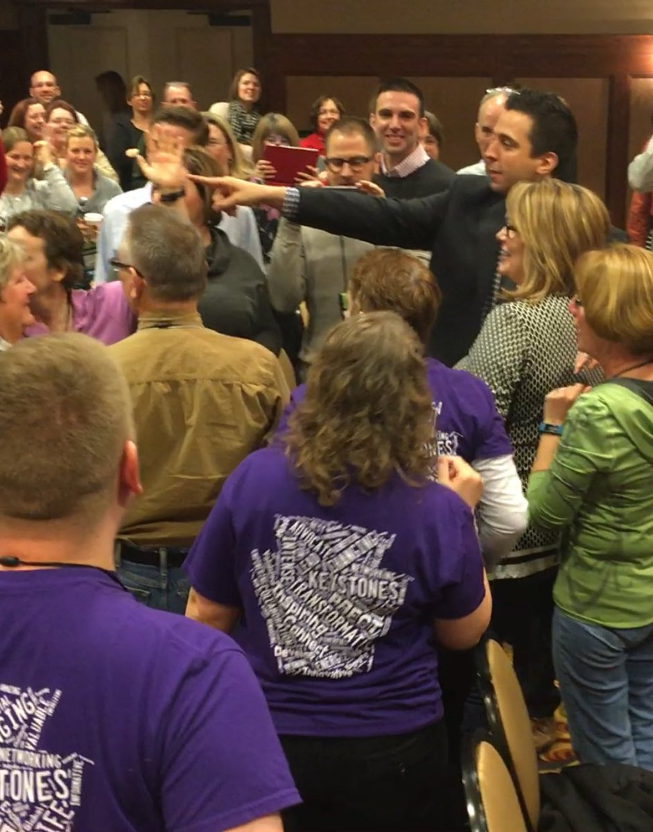 Perfect way to start your day. Love  the purple #pete2016 #ktifamily @gcouros https://t.co/zXr0Y44uzW