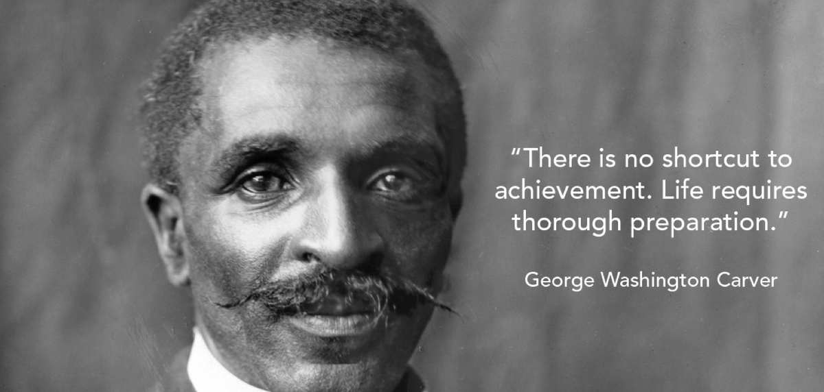 """There is no shortcut to achievement."" - George Washington Carver #MondayMotivation #BlackHistoryMonth #AAHM https://t.co/042LHeEpAK"