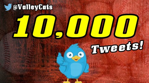 We've hit a milestone! This is our 10,000th tweet! RT for the chance to win one of our 2016 bobbleheads! (TBA) https://t.co/ExQ6oCyHOg