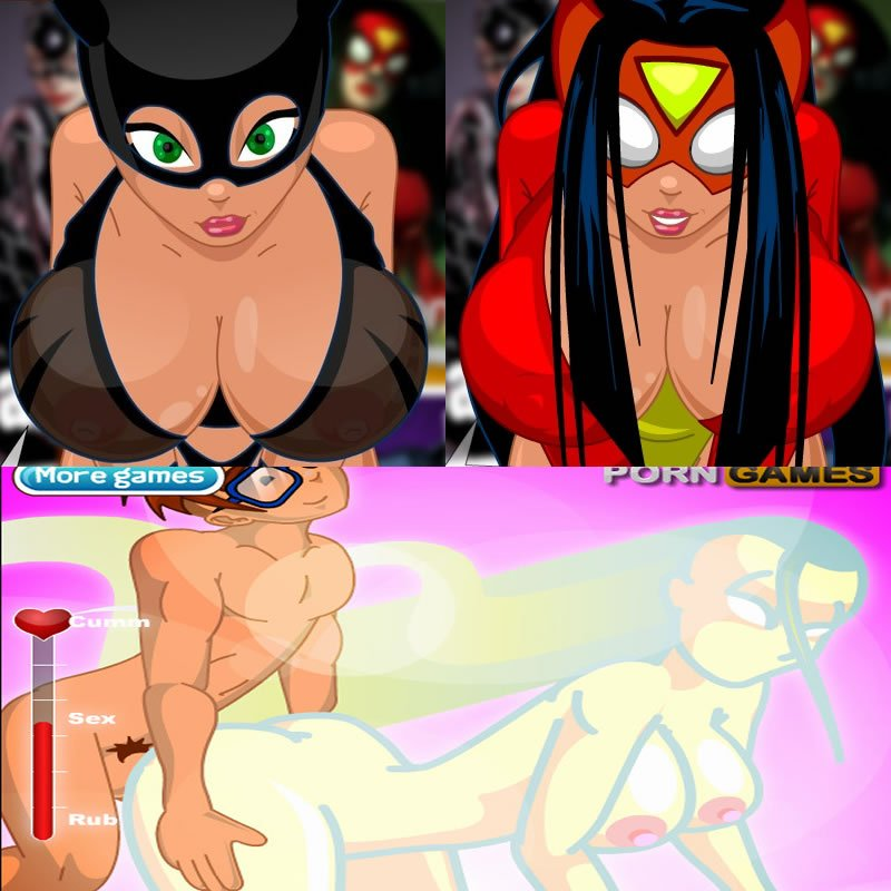 sexy cartoon games