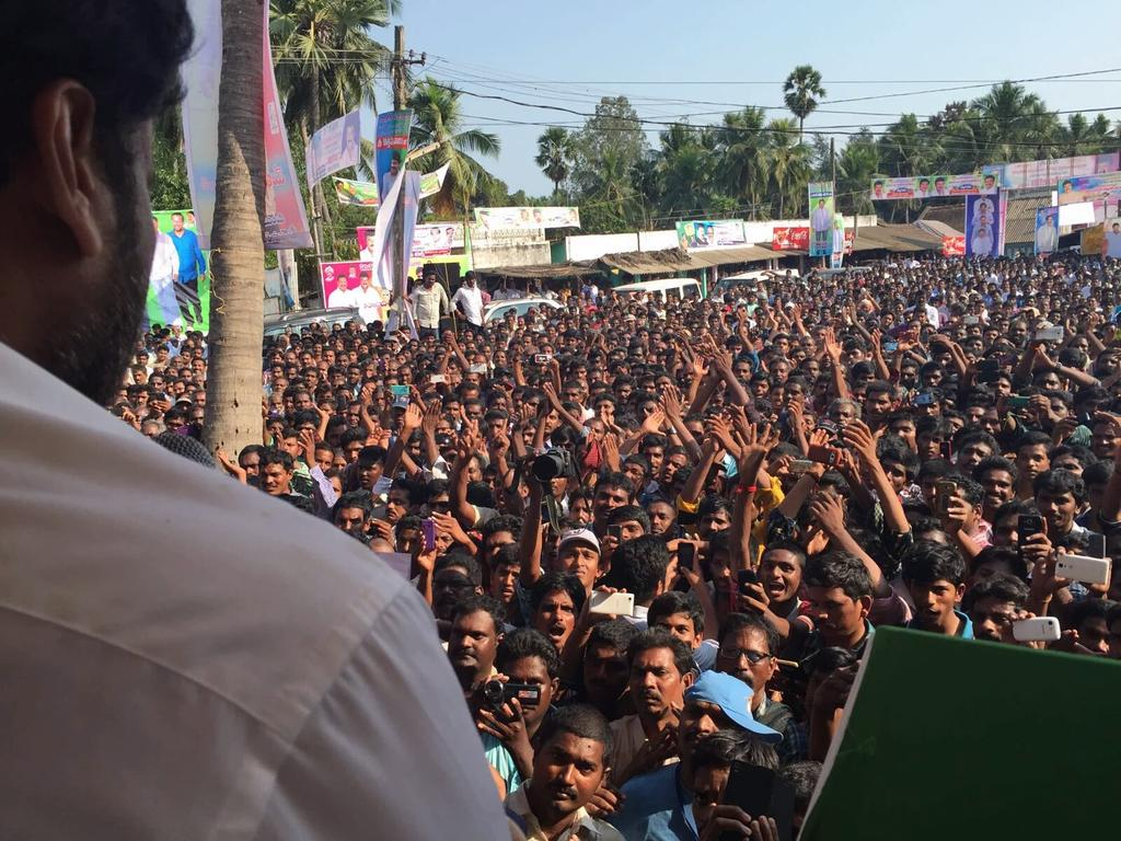 Chiranjeevi at a public meeting where he announces the plans he has for Mogalthur mandal. Megastar Chiranjeevi has vowed to adopt more villages and also make the costal region of Mogalthur a tourist destination. Megastar Chiranjeevi, Southie, Southie.in Latest trends of Chiranjeevi