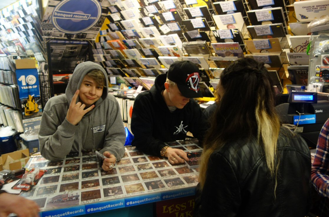 Gig History | Banquet Records on
