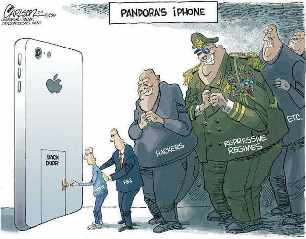 Great cartoon re the Apple FBI iPhone case https://t.co/18YSHAEiyP