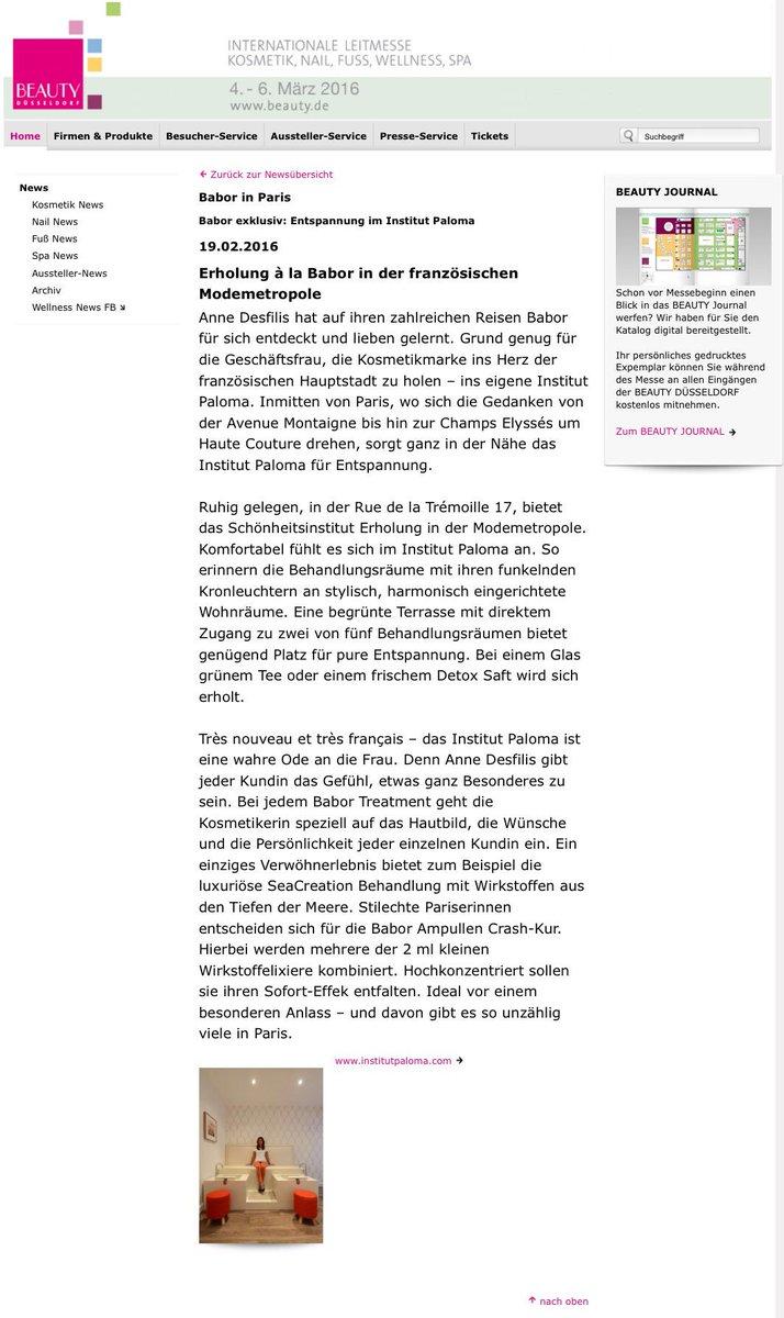 düsseldorf institut für wellness