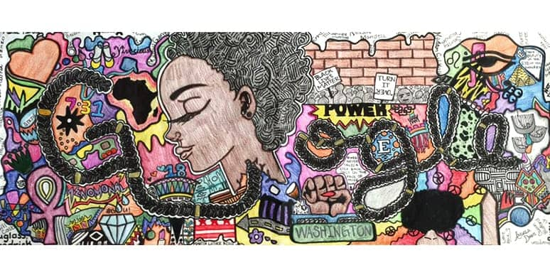 Today is your last day to vote for @EasternHS's Akilah Johnson GoogleDoodle. VOTE HERE NOW: https://t.co/tXETH109JL https://t.co/8aHoOMMjY7