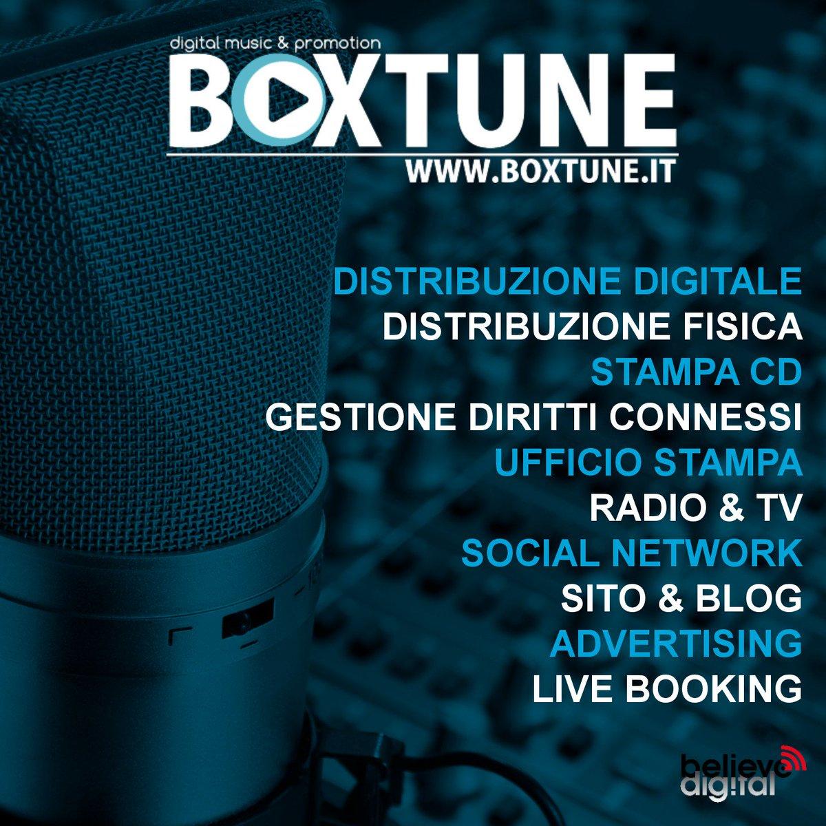 BOXTUNE: nuova startup italiana di distribuzione e promozione musicale