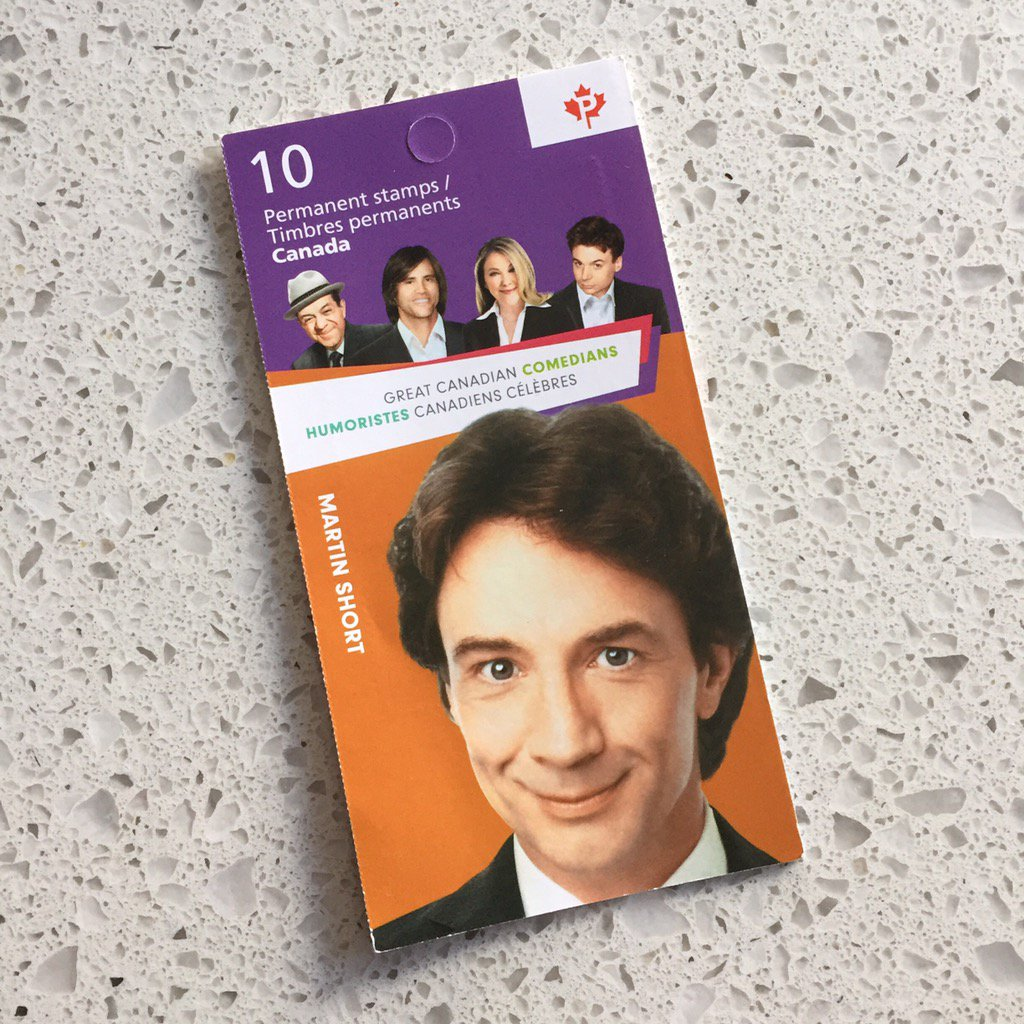 "Woman behind me in line at the post office: ""Justin Trudeau has his own stamp already?! That's ridiculous!"" https://t.co/DzXC2Vsl3Q"