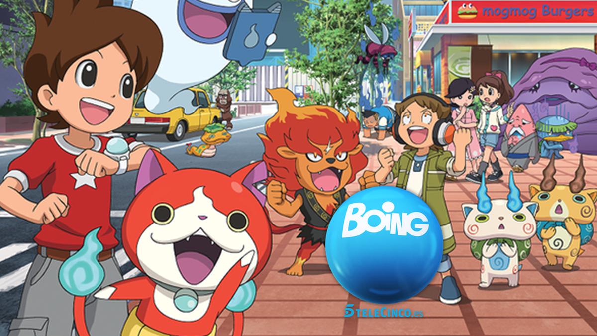 Resultado de imagen de Yo-kai Watch Boing