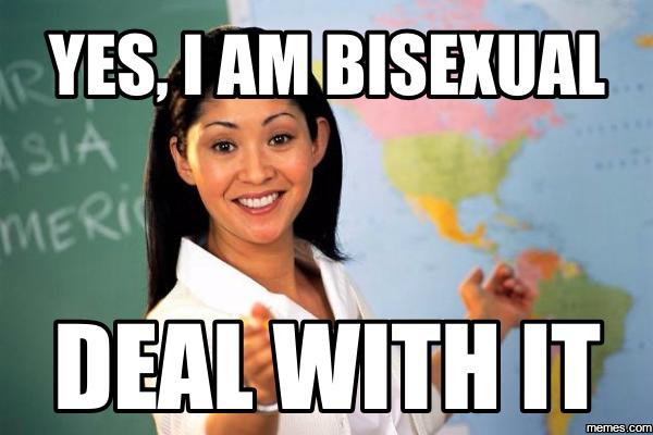 Bisexual female meme