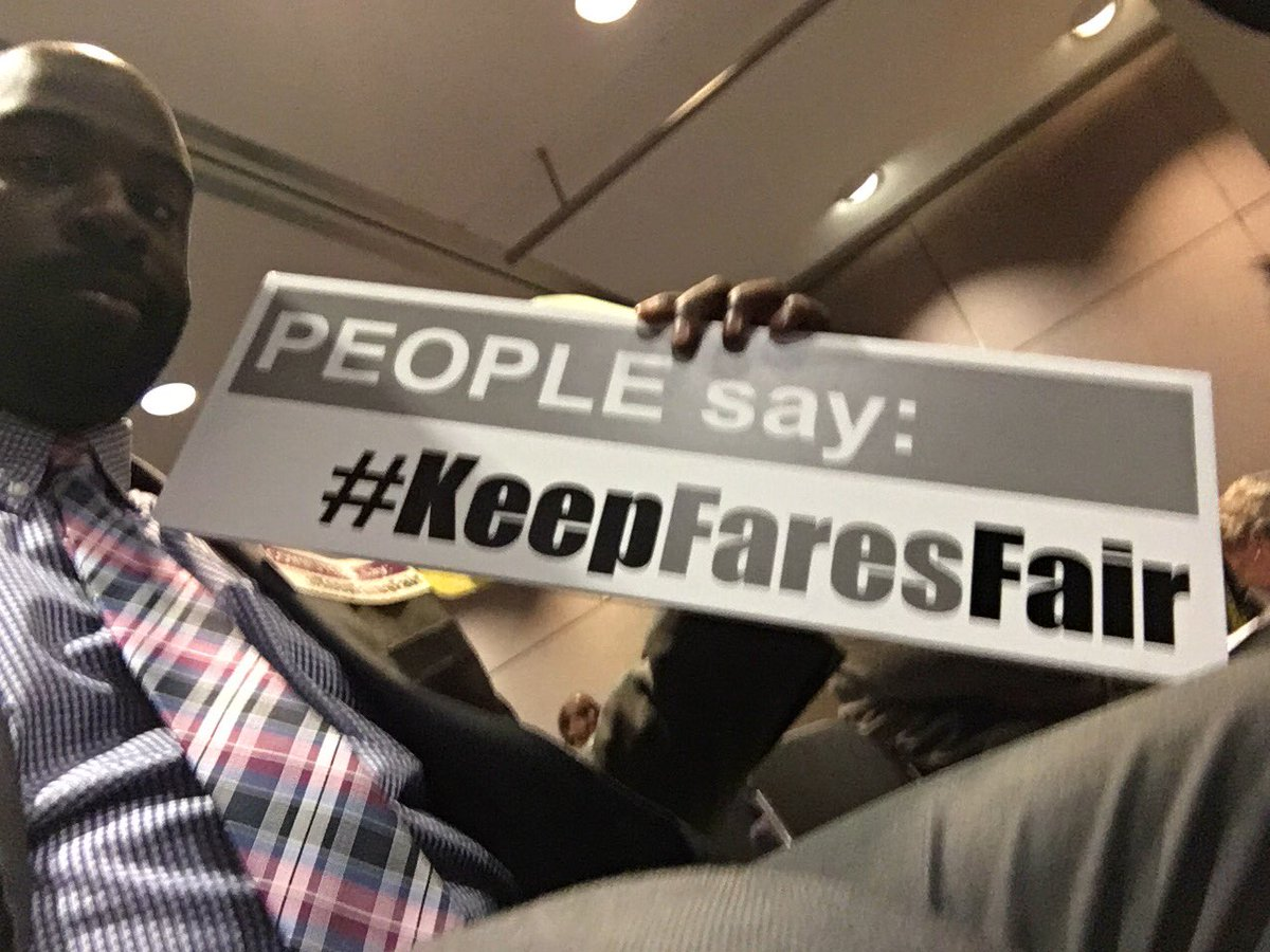 Hanging out at the @MASSDOT #FCMB hearing on fare hikes. I say #KeepFaresFair https://t.co/IYux4afvCM