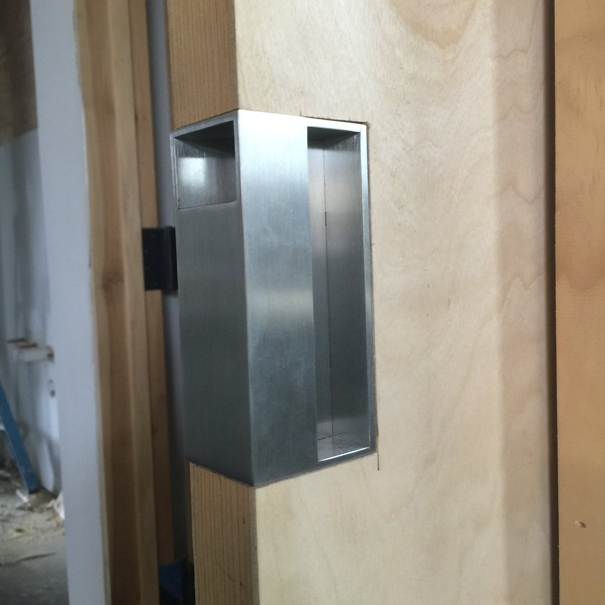 How to install pocket door pull - 9 25 Am 22 Feb 2016