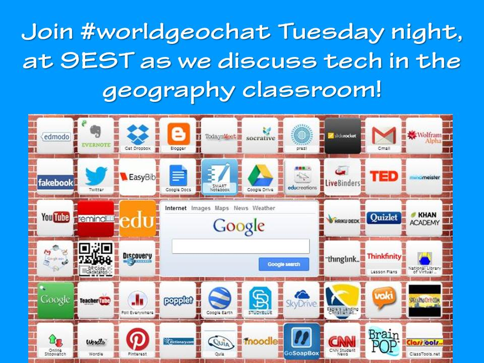 Thumbnail for #worldgeochat - Tech in Geography Classes
