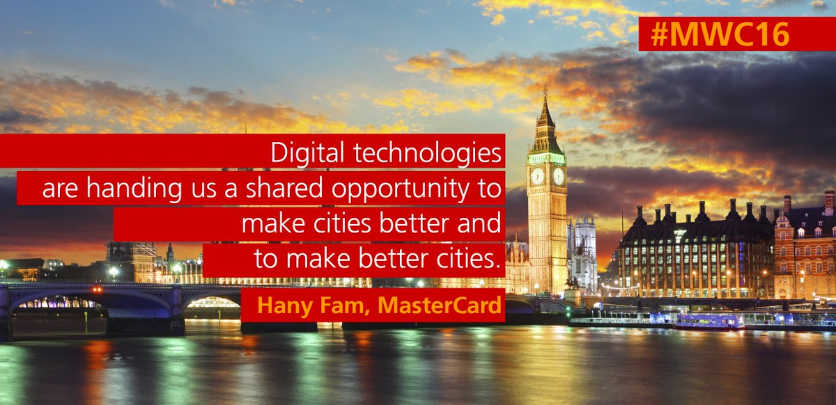 Public and private sector have a shared opportunity to make cities better and to make better cities #MWC16 #MWCLive https://t.co/lyswxkXRlp