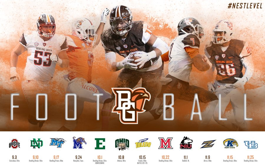 Bgsu Football Schedule 2019 BGSU Athletics on Twitter: