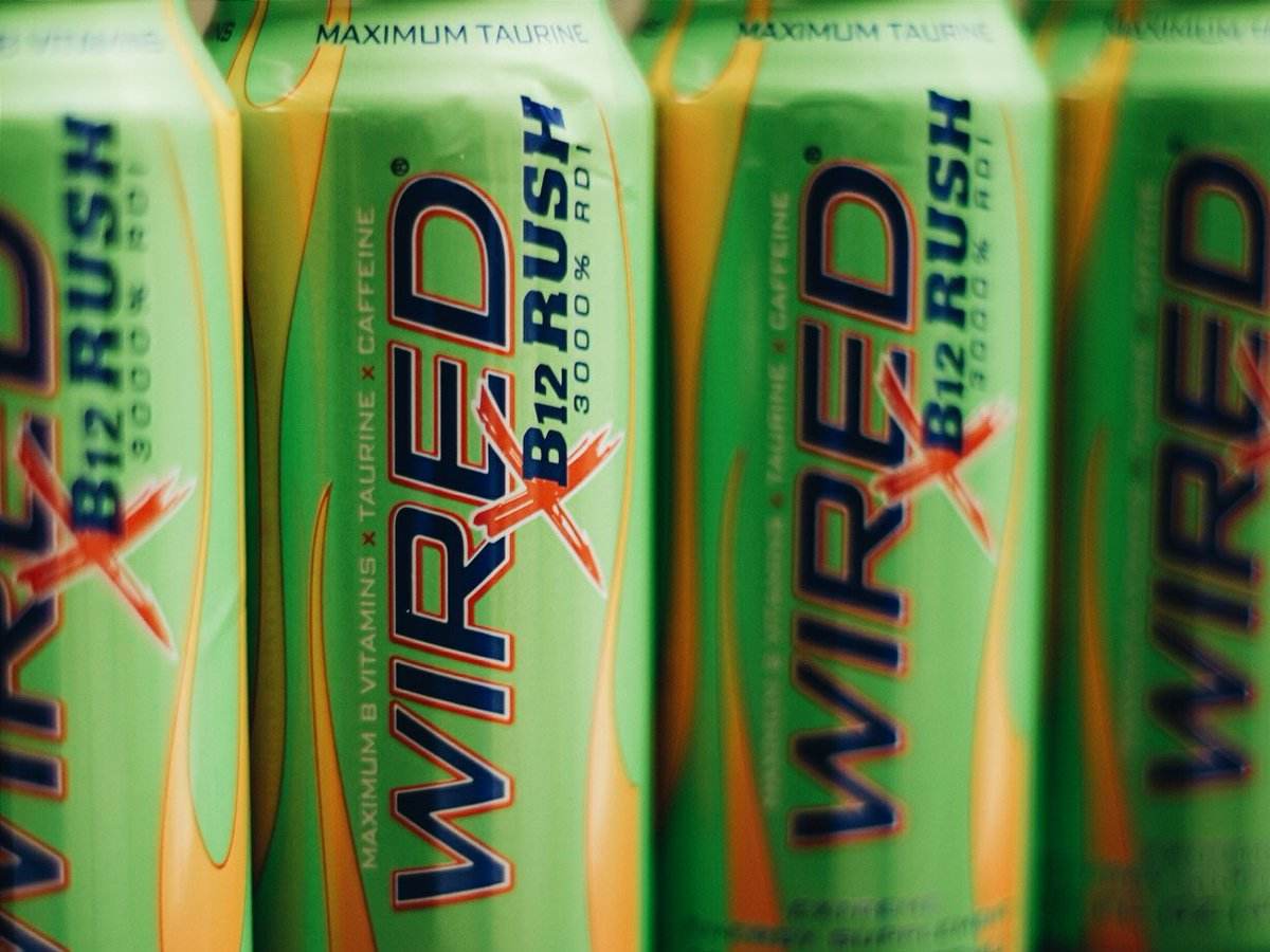 Wired Energy Drinks on Twitter: \