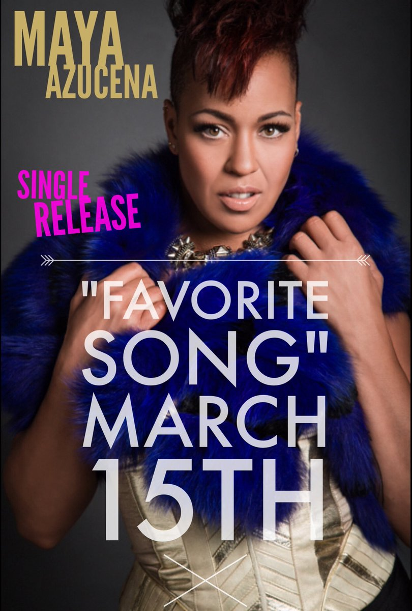 I am pretty excited to announce single will drop MAR15th! Prod by @iamsonix #FavoriteSong @cyberpr @lulucohenmedia https://t.co/354UkNItN3