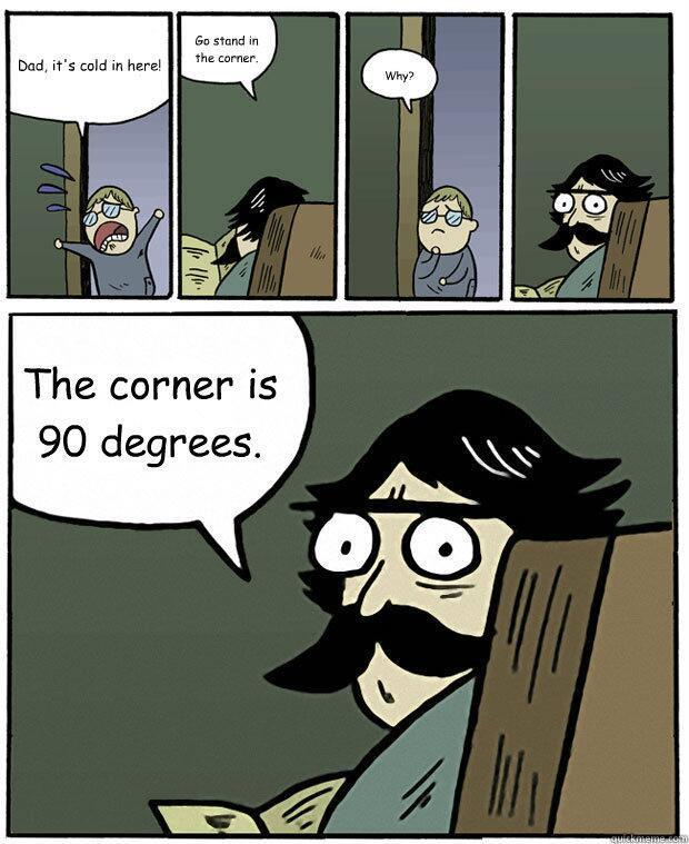 Dad : ultimate Dad joke math nerds StareDadComics