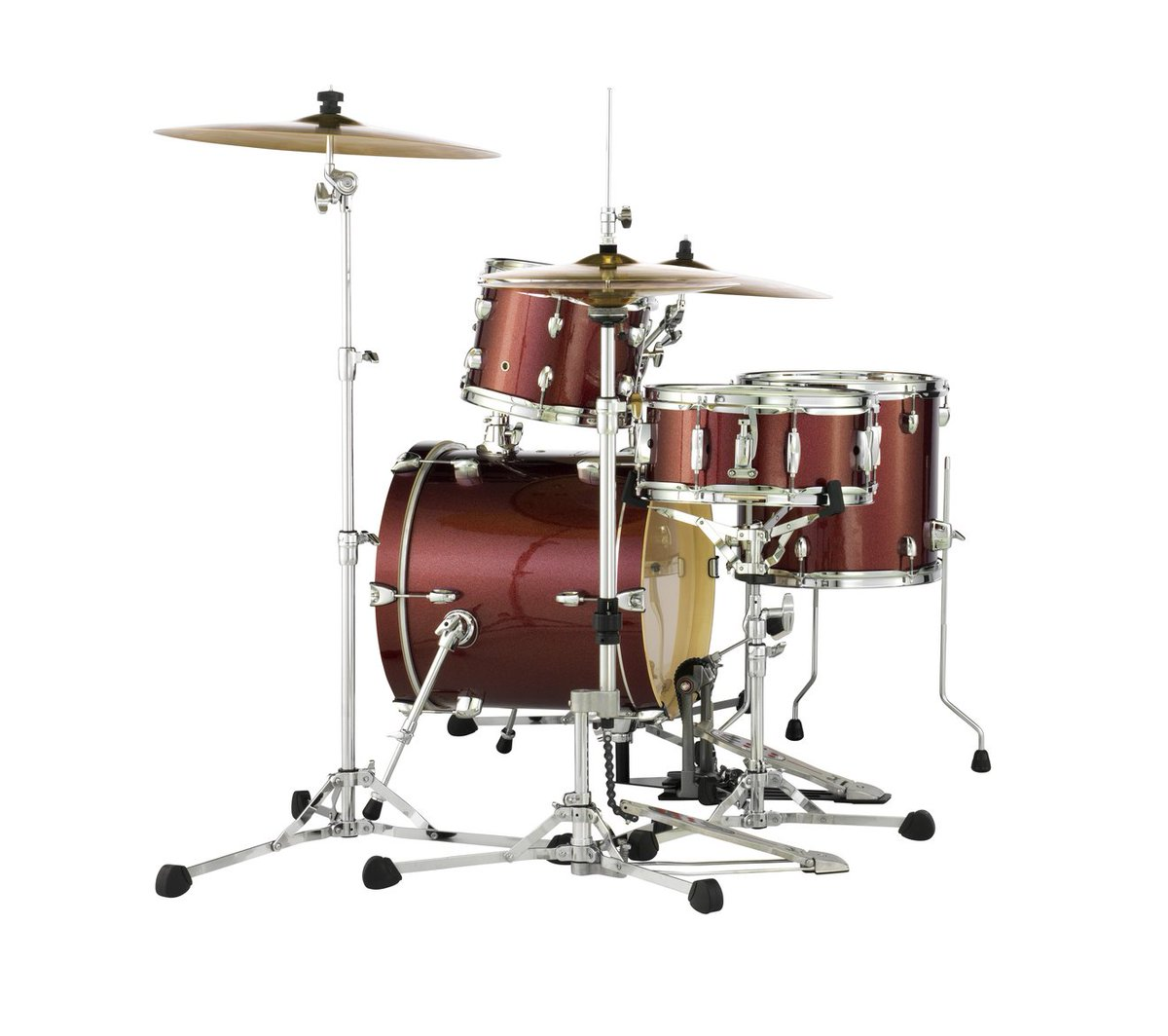 Pearl drums on twitter the midtown kit features a 16x14 for 16x14 floor tom